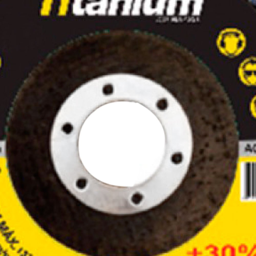 Disco Flap de Óxido de Alumínio de 4.1/2 Pol. Grão 60 - Imagem zoom