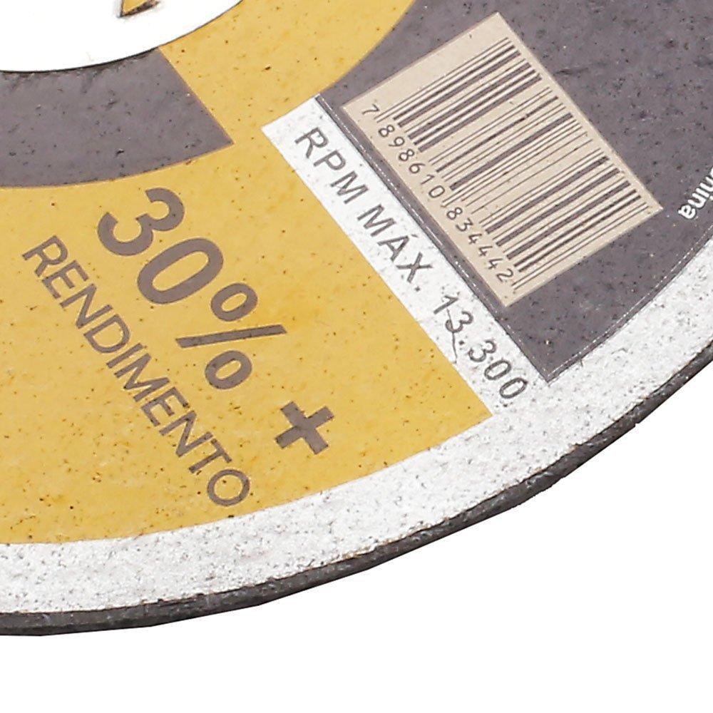 Kit 10 Discos de Corte Fino 4.1/2 Pol. Super Premium - Imagem zoom