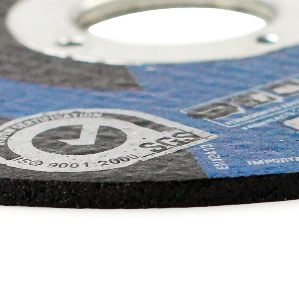 Kit 10 Discos de Corte 115 x 3 x 22,23mm para Aço e Metais Ferrosos FG034 - Imagem zoom