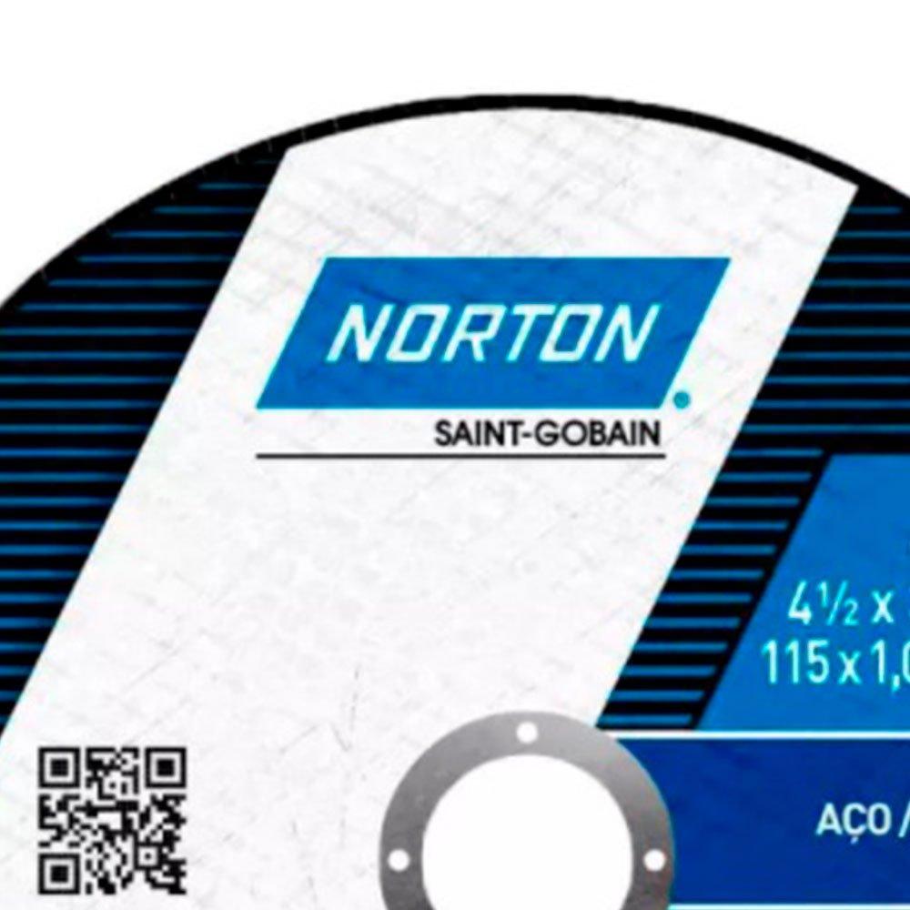 Disco de Corte BNA 12 115x1.6x22.23mm para Aço  - Imagem zoom