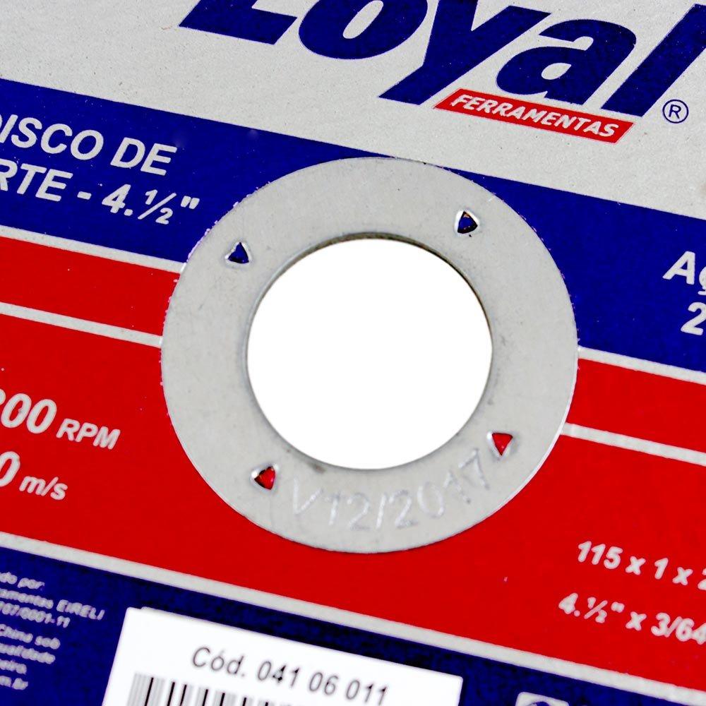 Disco de Corte para Aço Inox 4.1/2 Pol. - Imagem zoom