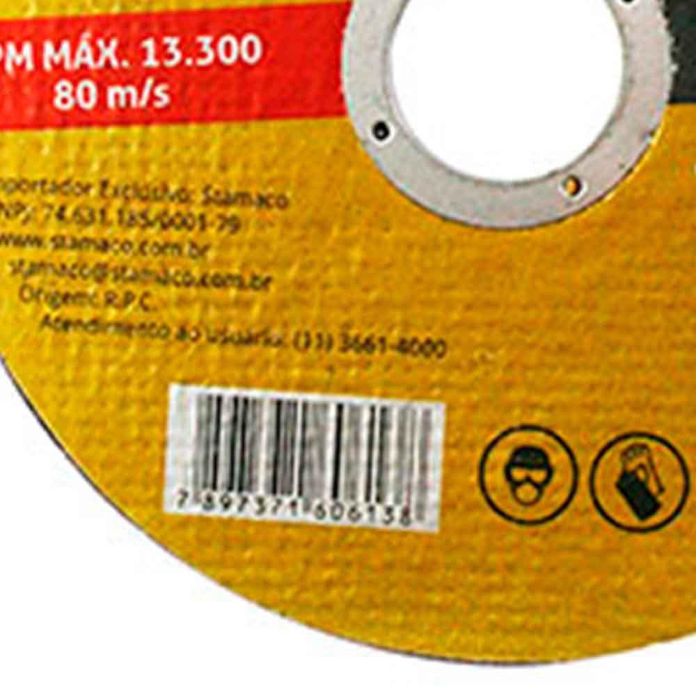 Disco de Corte de 115 x 22,23 mm para Metal - Imagem zoom