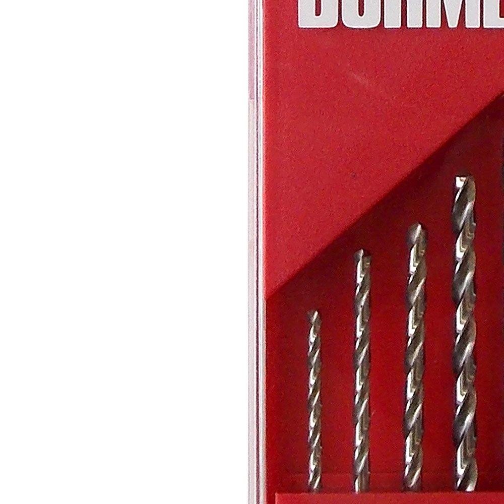 Jogo de Brocas HSS para Metais em Aço Rápido com 10 Peças em Milímetros - Imagem zoom