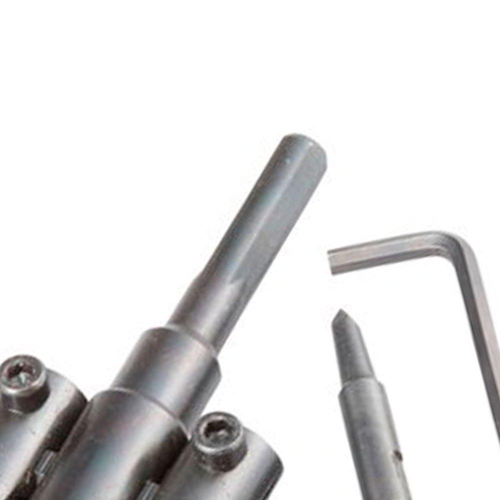 Furador Circular Ajustável 30 a 120mm - Imagem zoom