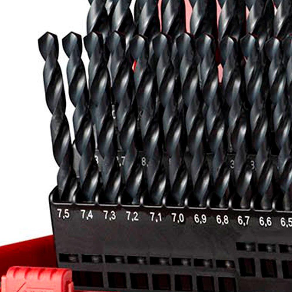 Jogo com 41 Brocas em Aço Rápido de 6 a 10mm - Imagem zoom