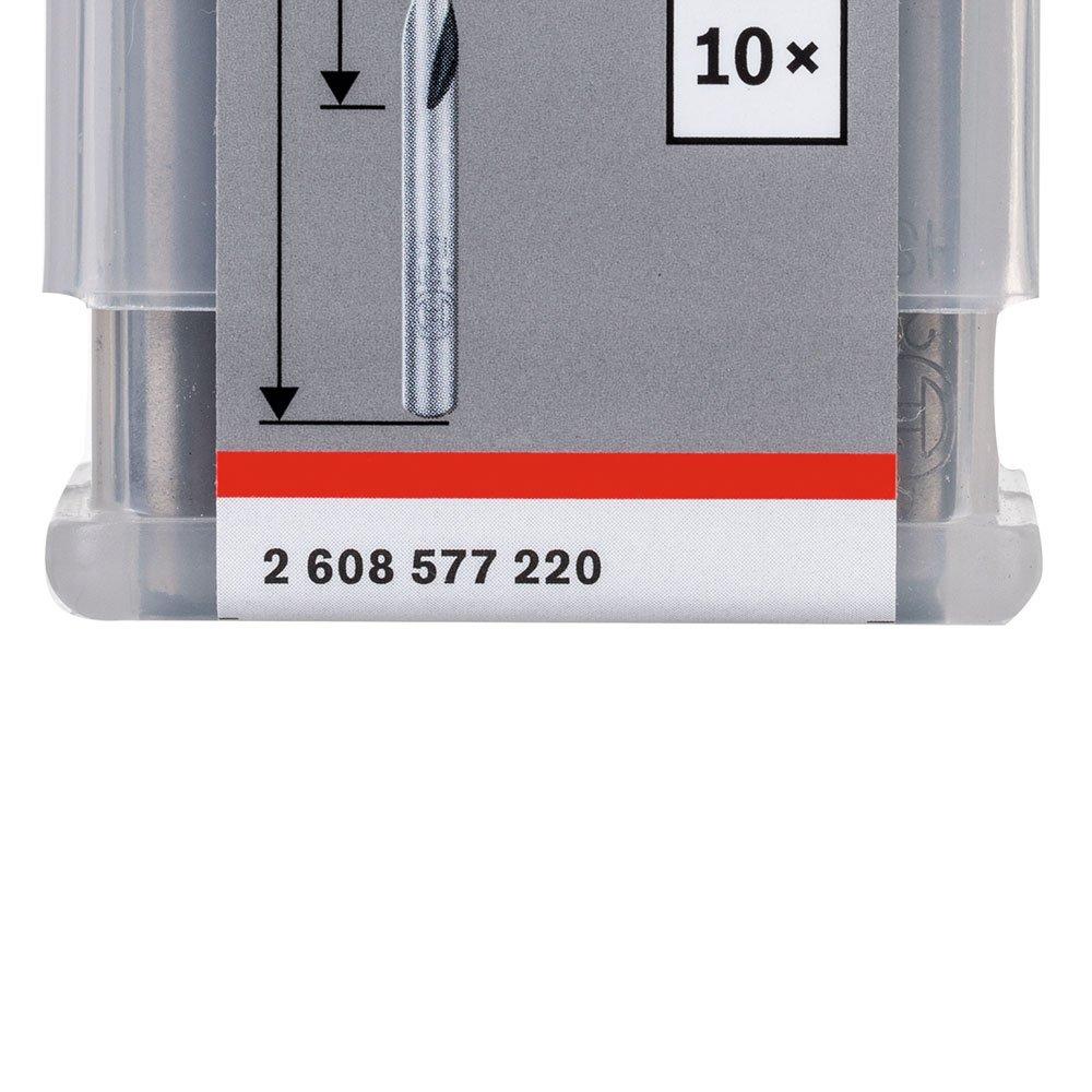 Jogo de Brocas para Metal HSS PointTeQ 5,2mm com 10 Peças - Imagem zoom