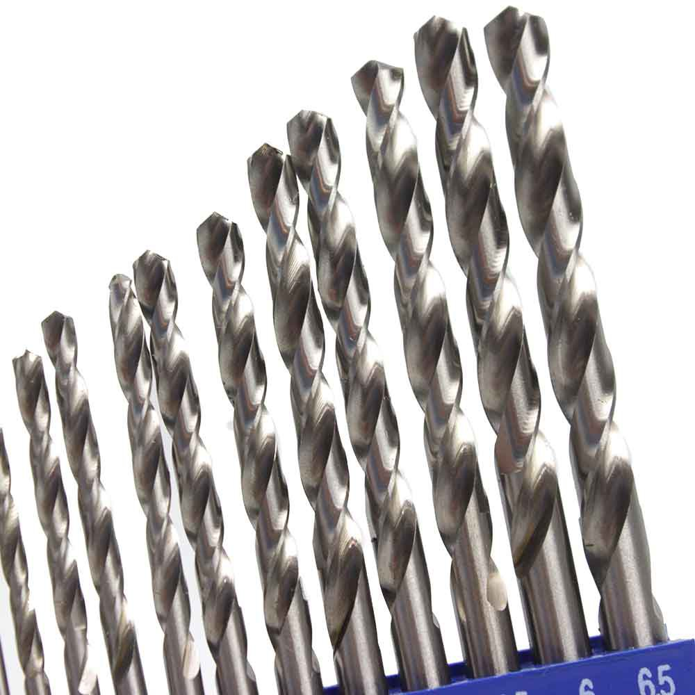Jogo de Brocas em Aço Rápido com 13 Peças - Milímetros - Imagem zoom