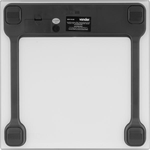 Balança Digital De Vidro 150 Kg Bdv 0150 - Imagem zoom