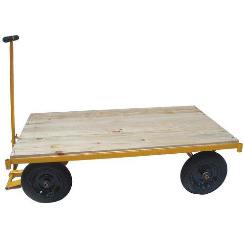 carro plataforma com plataforma de madeira 600kg