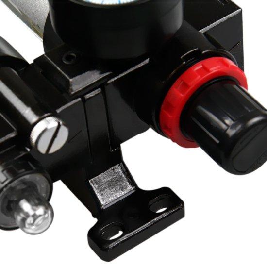 Filtro Regulador e Lubrificador de 1/2 Pol. - Imagem zoom