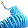 Mangueira Espiral em Poliamida Azul de 15 Metros - 1/4 Pol. NPT - Imagem 5