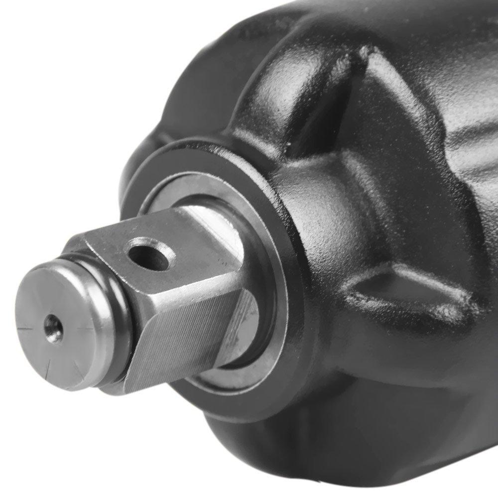 Chave Parafusadeira de Impacto Pneumática com Eixo de 3/4 Pol. Curta 1.200 N.m - Imagem zoom
