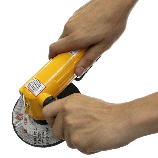 Esmerilhadeira Manual Pneumática de 5 Pol.  - Imagem zoom