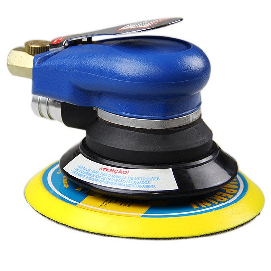 Lixadeira Circular Orbital para Disco de 6 Pol.  - Imagem zoom
