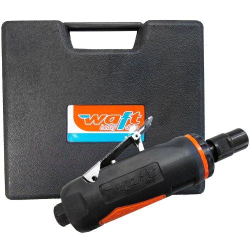 kit mini retífica pneumática de 1/4 pol. com 10 pontas