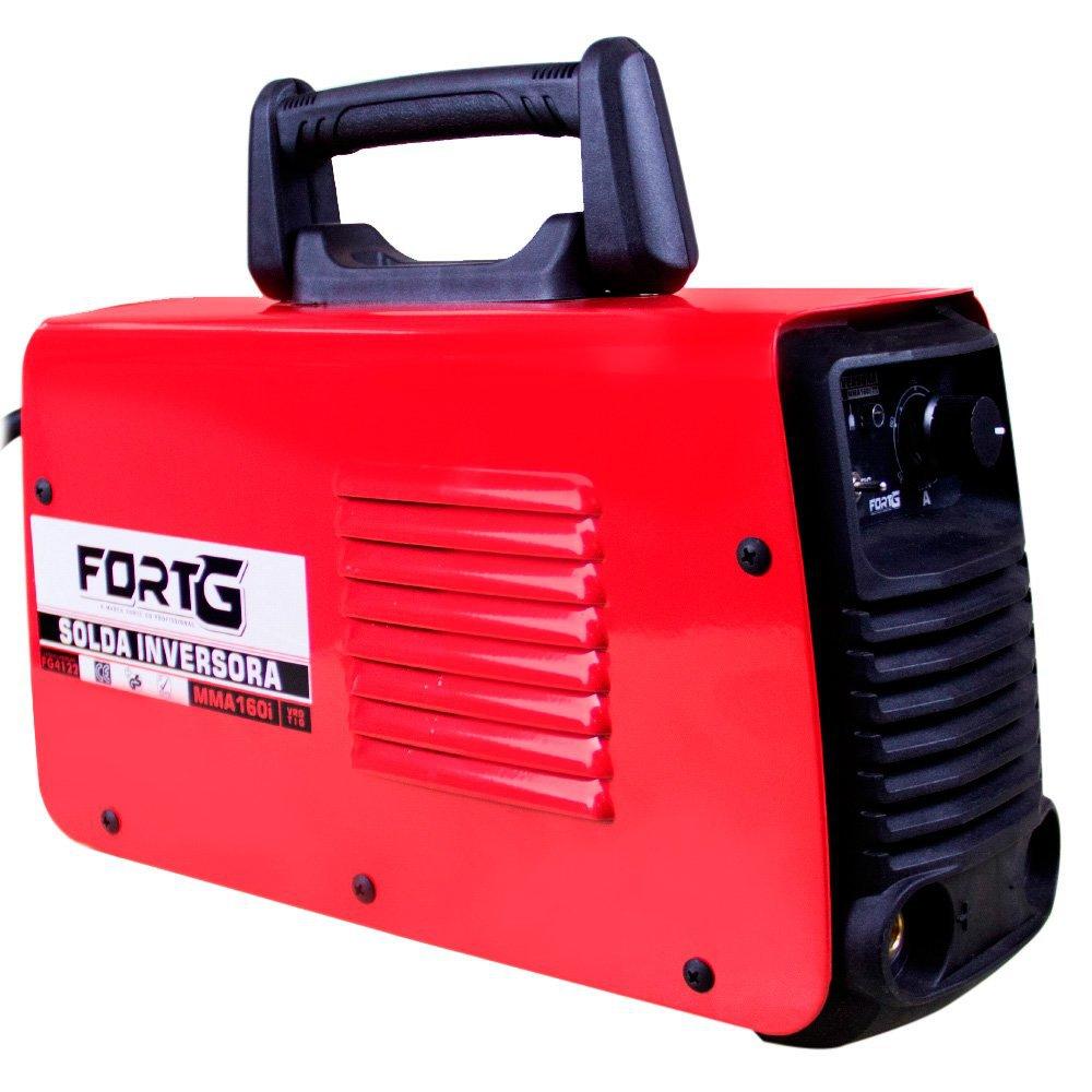 Kit Máquina de Solda FORTGPRO-FG4122 Multifuncional Bivolt + Máscara de Solda com Escurecimento Automático - Imagem zoom