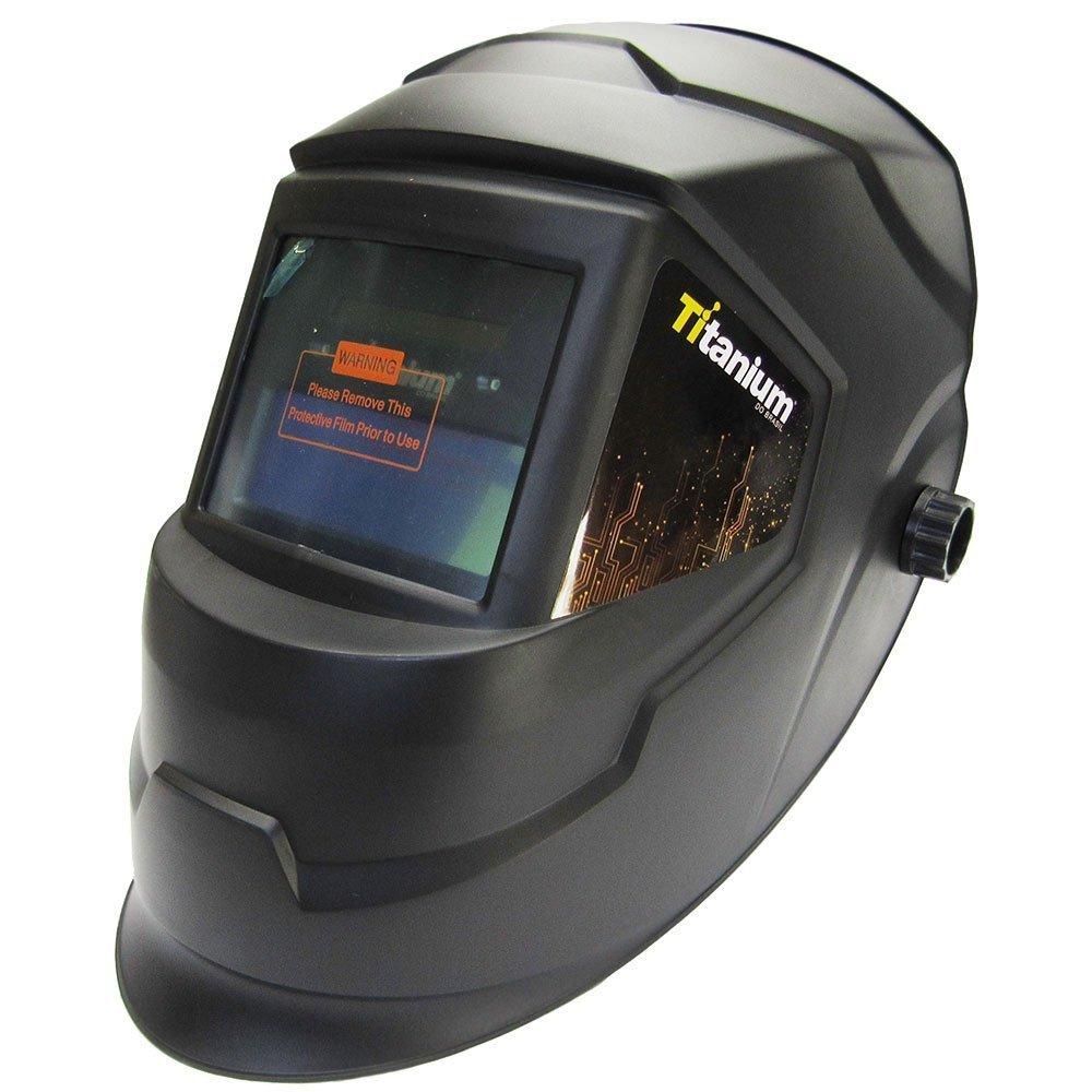 Kit Máquina de Solda Inversora FORTGPRO FG4514 MMA170iP 170A Bivolt + Máscara de Solda Automática TITANIUM 5242 - Imagem zoom