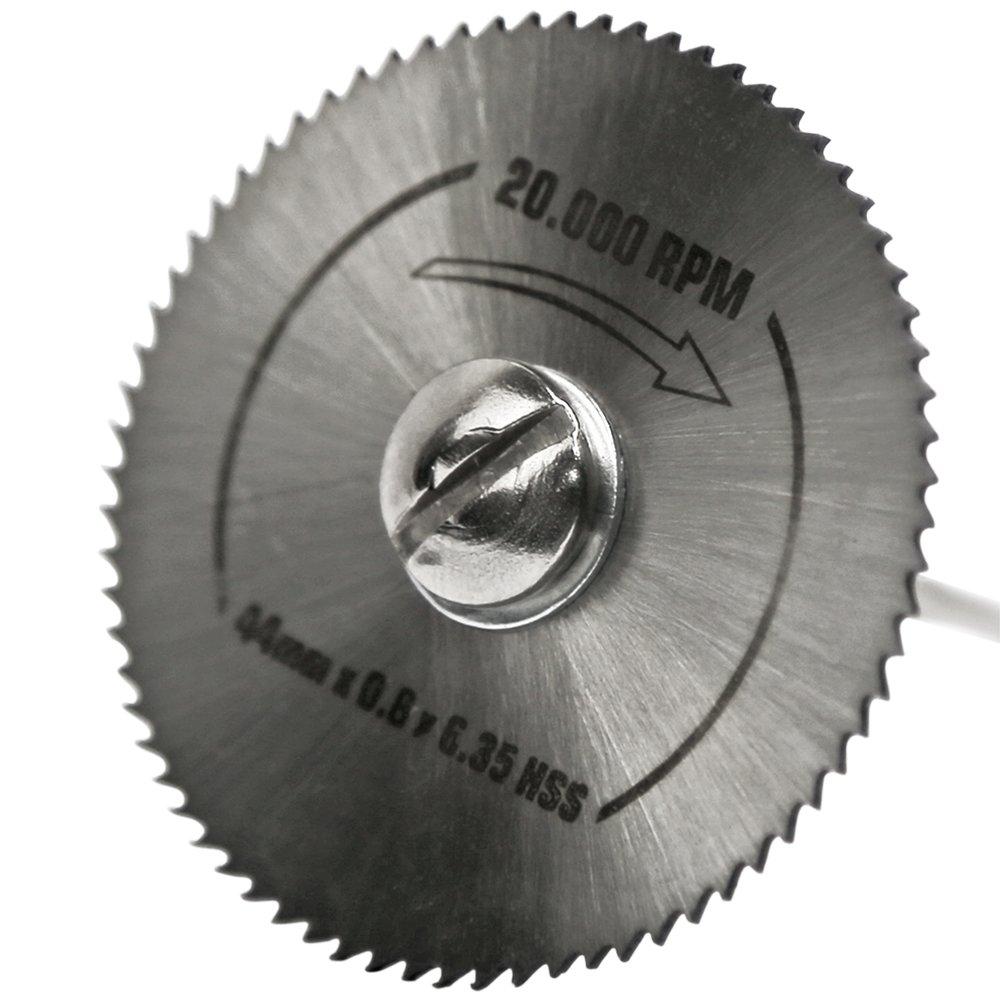Jogo de Discos de Corte HSS 7 Peças para Micro Retífica - Imagem zoom