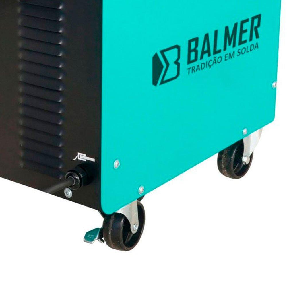 Kit Máquina de Solda BALMER MIG210M Vulcano MIG/MAG 185A + Rolo Arame de Solda LYNUS LAM-5 5Kg - Imagem zoom