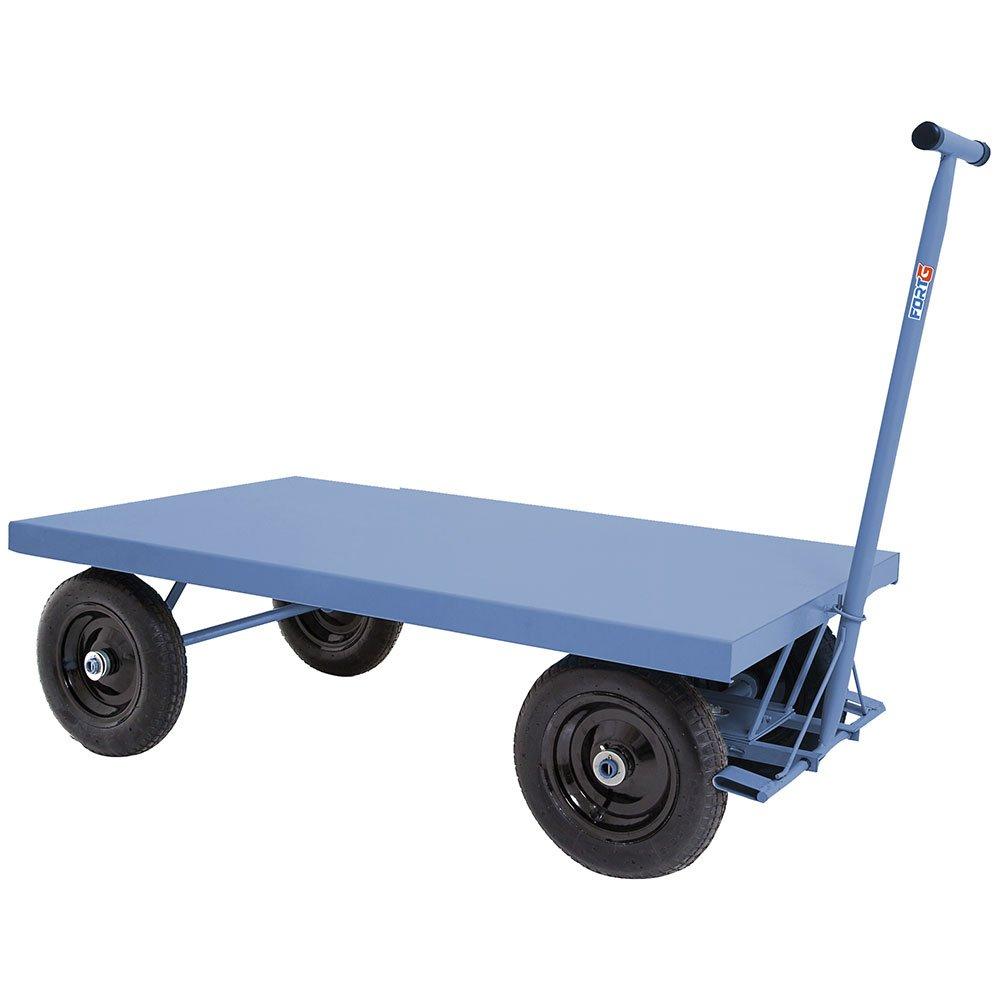 Carro Plataforma em Chapa de Aço 400kg - Imagem zoom