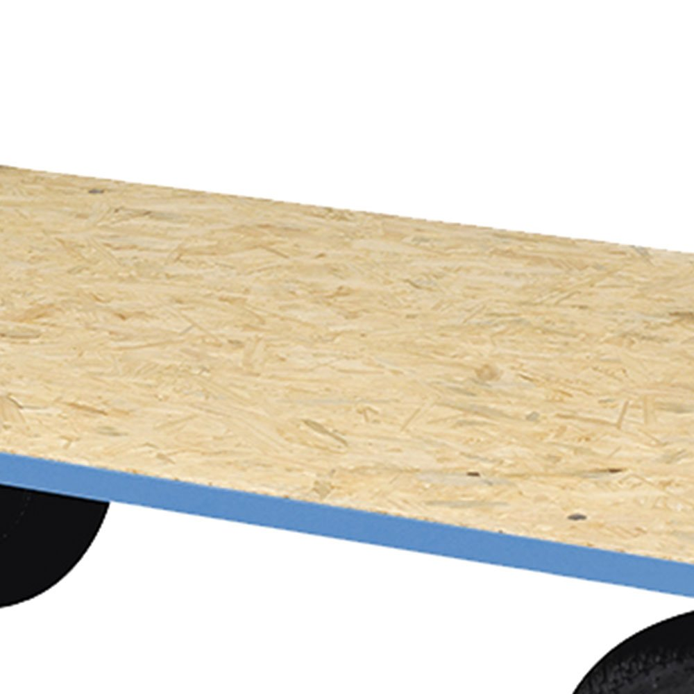 Carro Plataforma de Madeira 400kg - Imagem zoom