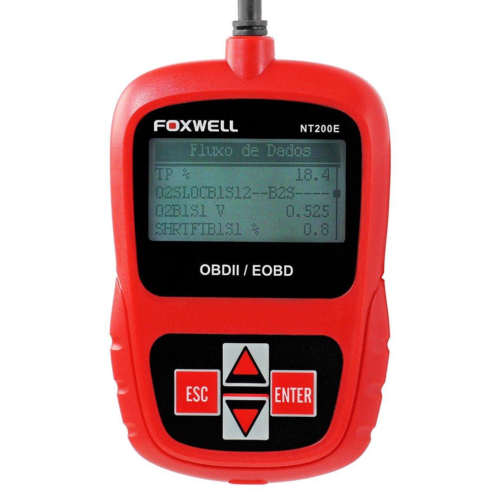 Scanner Leitor de Códigos de Falhas Foxwell - OBDII/EOBD e CAN - Imagem zoom