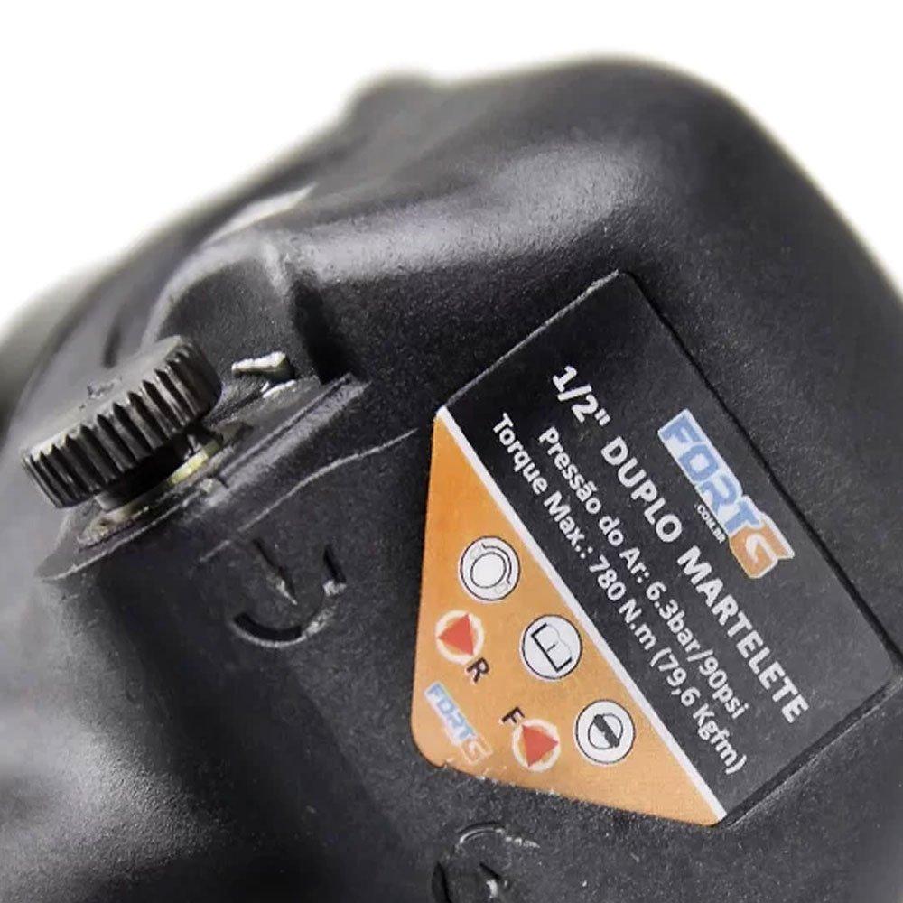Kit Compressor de Ar SCHULZ PROCSV10/100  10 Pés 100L 2HP Mono + Chave Parafusadeira de Impacto 1/2 Pol. 79,6Kgfm FORTGPRO FG3300 - Imagem zoom