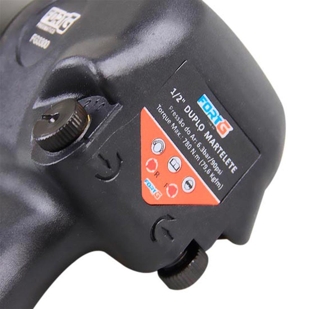Kit Compressor de Ar SCHULZ PROCSV10/100  10 Pés 100L Mono + Chave Parafusadeira de Impacto FORTGPRO FG3300.13 - Imagem zoom
