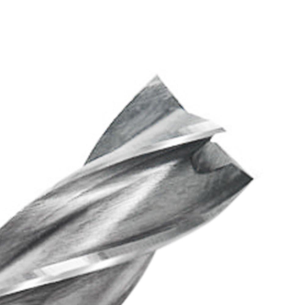 Fresa de Topo 8mm com Haste Cilíndrica em Aço Rápido - Imagem zoom