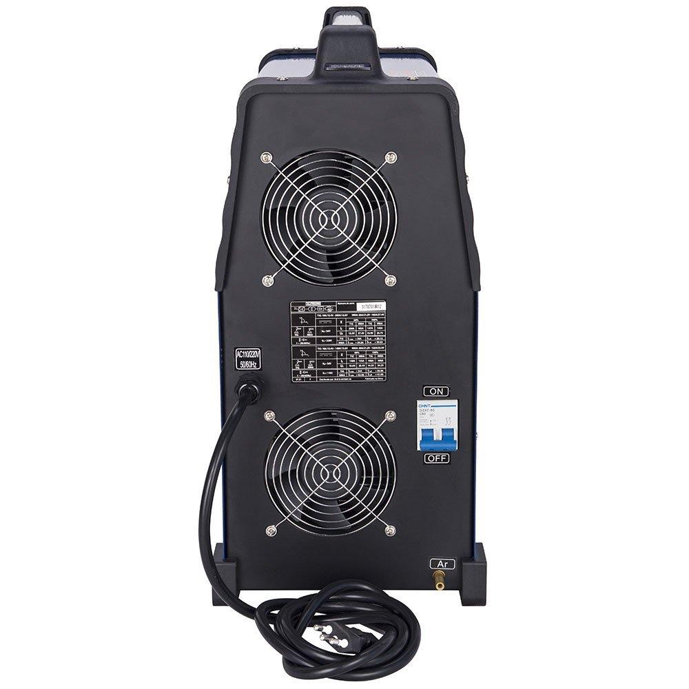 Kit Máquina de Solda BOXER 3005010 Alumínio ALUTIG 200 ACDC + Mascara de Solda ESAB-738295 - Imagem zoom