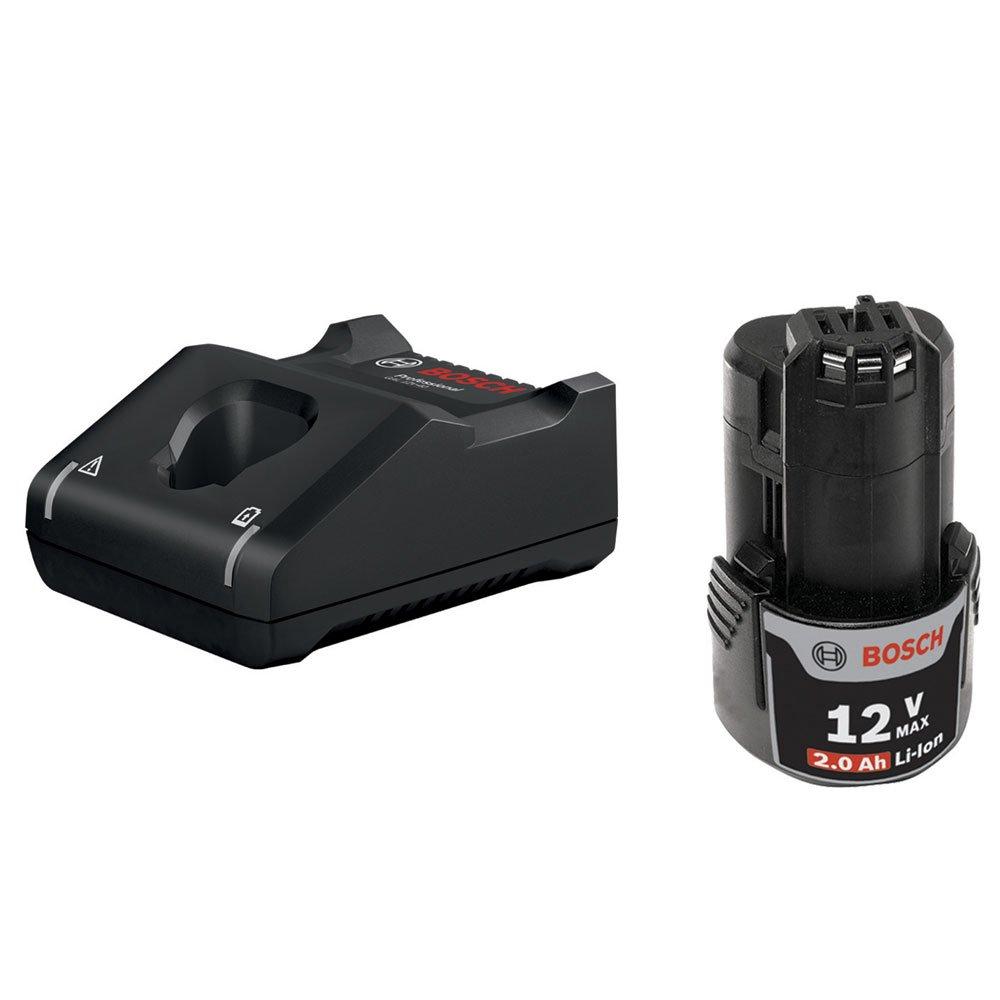 Parafusadeira/ Furadeira Impacto 12V com 2 Baterias 2,0Ah, Carregador Bivolt e Maleta GSB 12V-30 - Imagem zoom