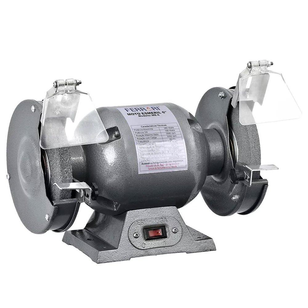 Moto Esmeril de Bancada 6 Pol. 360W - Imagem zoom