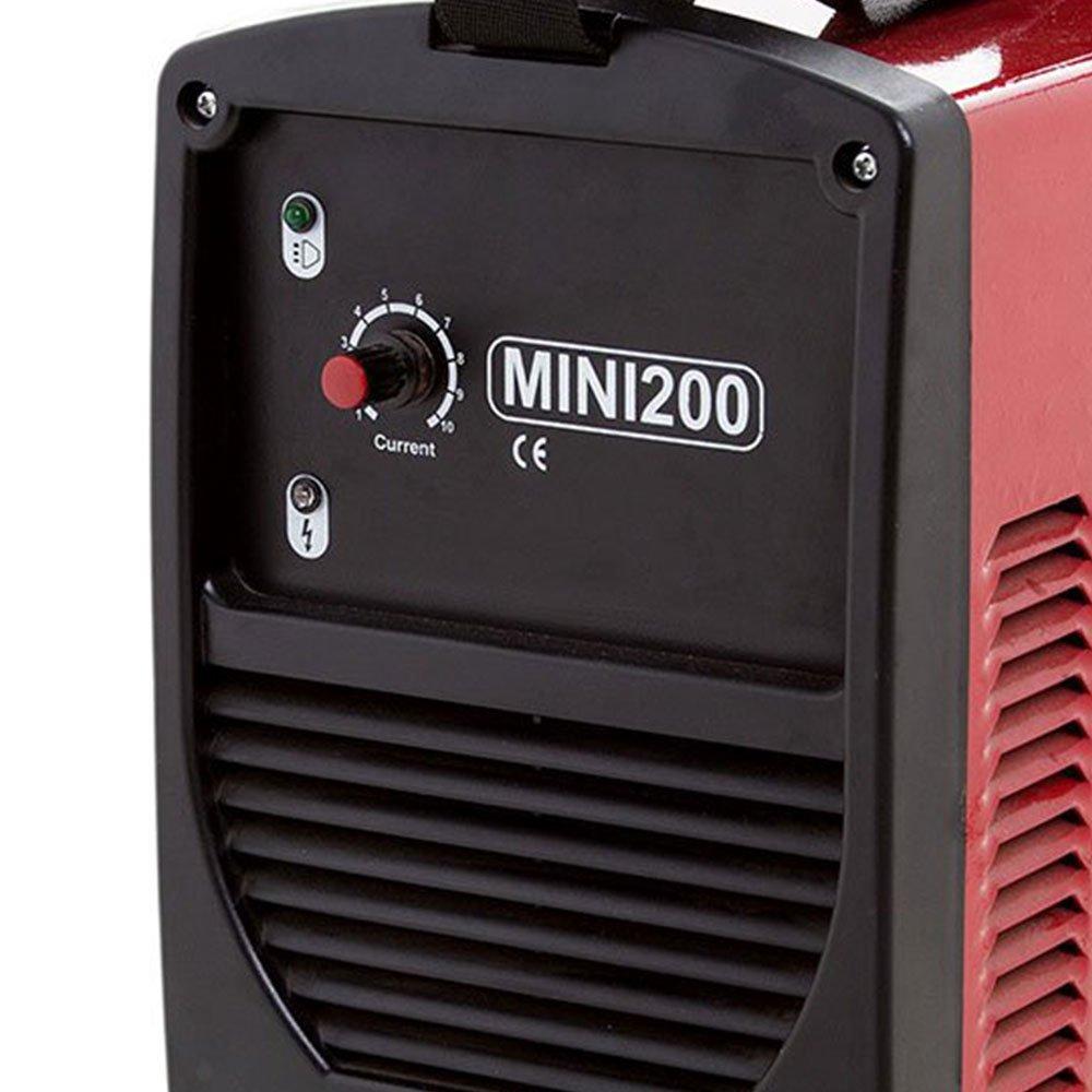 Kit Máquina de Solda Inversora Starmig MINI200 200A 220V + Máscara de Solda Titanium 5242 - Imagem zoom