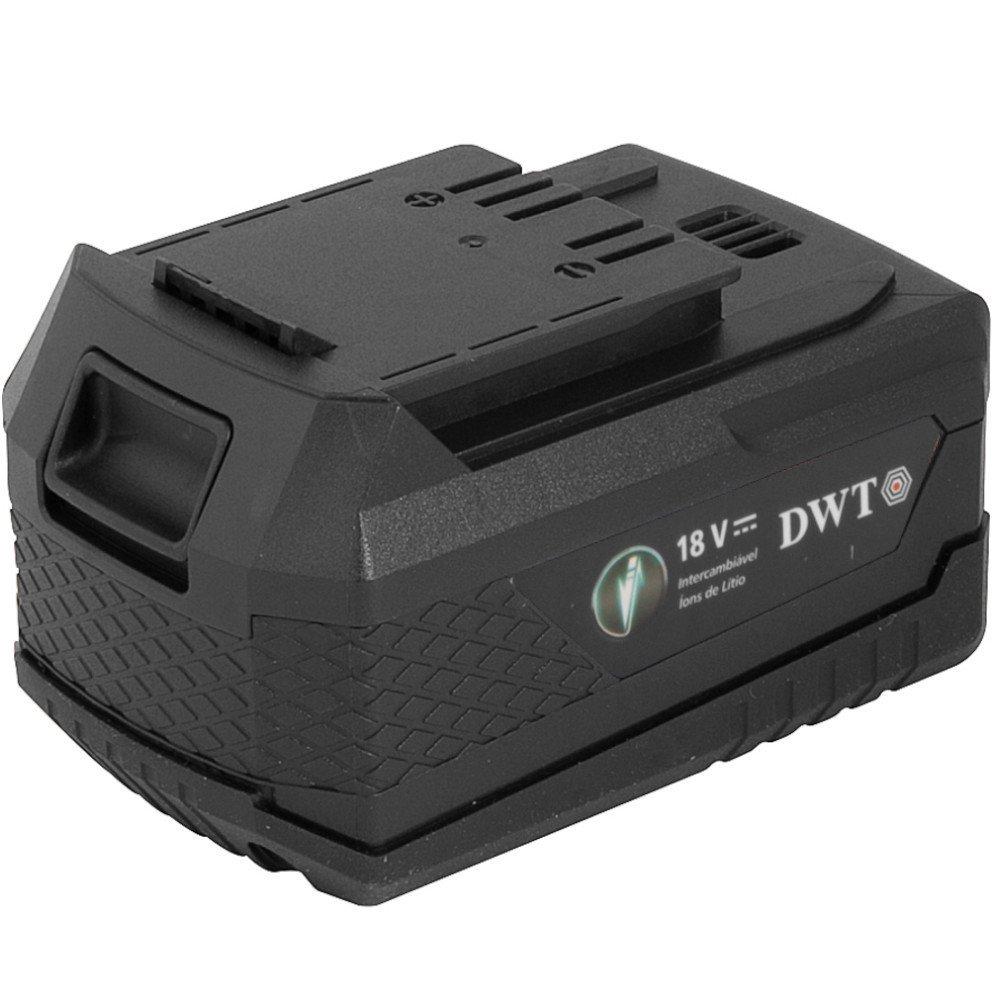 Kit Lixadeira de Cinta DWT-6014181200 18V + Bateria DWT-6014180400 + Carregador DWT-6014180500 - Imagem zoom