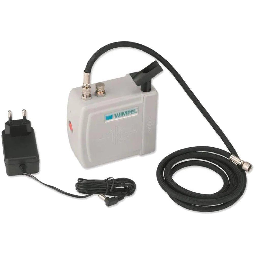 Mini Compressor para Aerográfo 15-20 PSI Bivolt - Imagem zoom