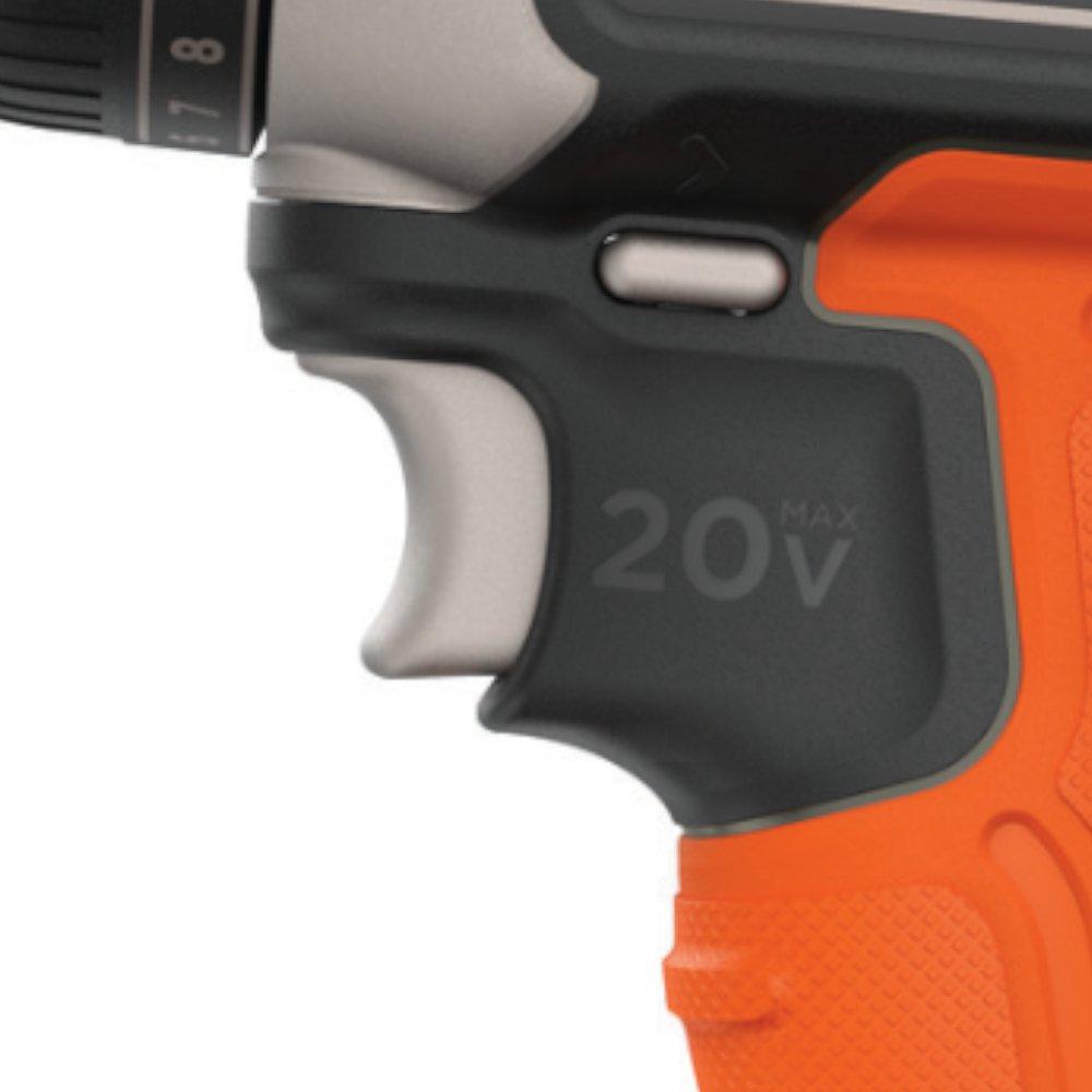 Parafusadeira/Furadeira a Bateria 20V Li-Ion 3/8 Pol. com Carregador Bateria e Bits - Imagem zoom