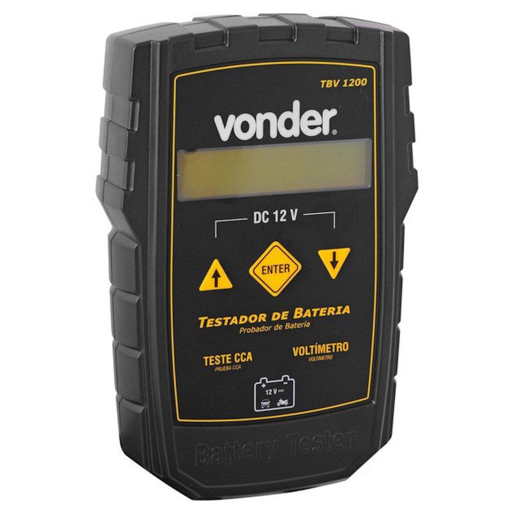 Testador de Bateria Automotivo TBV 1200 12V - Imagem zoom