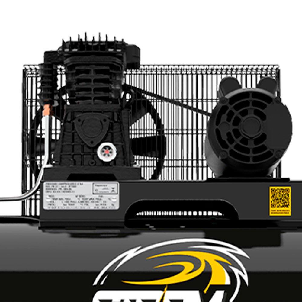 Compressor de Ar Storm 450 Monofásico 15 Pés 175 Litros 110/220V - Imagem zoom