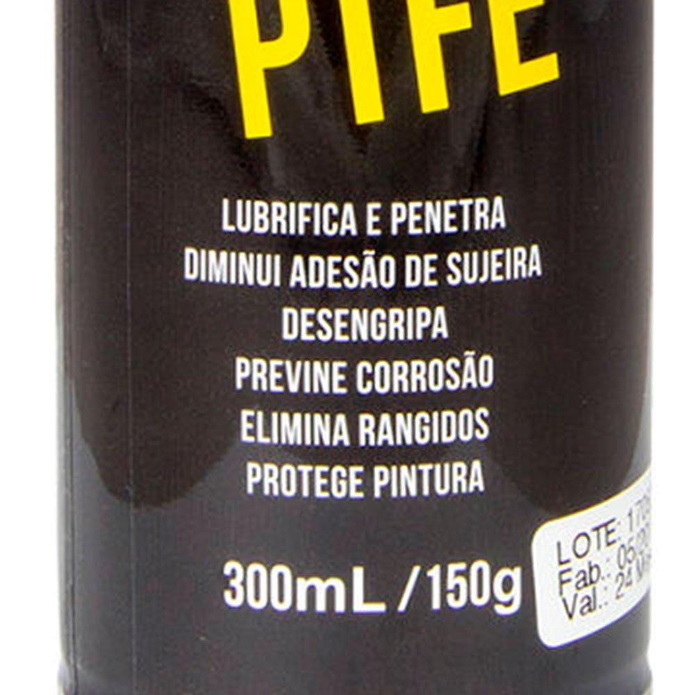Óleo Lubrificante Spray Multiuso PTFE para Bicicleta 300ml/ 150g - Imagem zoom