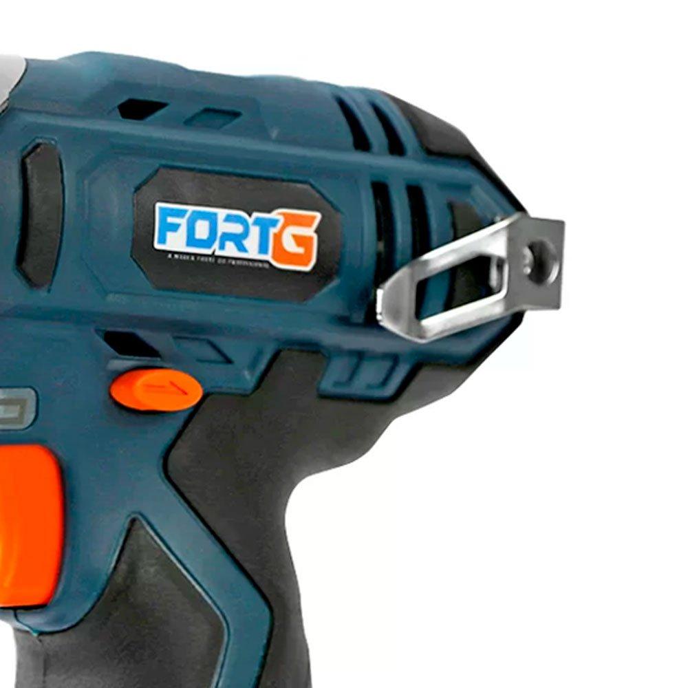 Kit Parafusadeira/Chave de Impacto FG3025 1/4 Pol. 12V Lition + Bateria de Íons de Lítio FG3440 12V 1,3Ah - Imagem zoom
