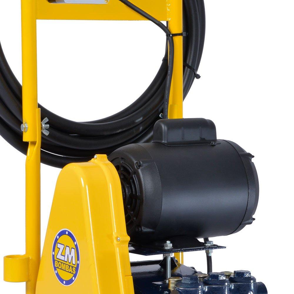 Lavadora Industrial de Alta Pressão 11L/min 1CV  Mono com Carrinho e Mangueira 5m - Imagem zoom