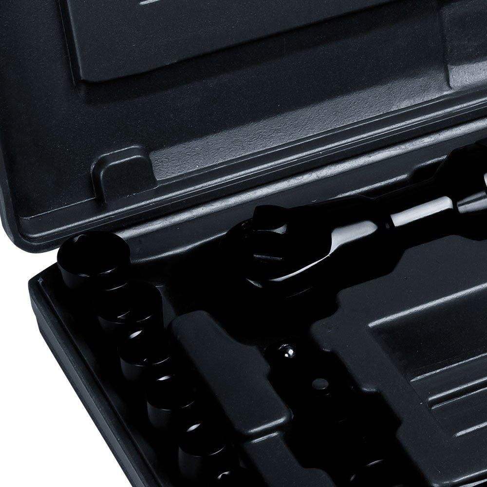 Kit Chave Catraca Pneumática 1/2 Pol. 6,9Kgfm e Acessórios com 16 Peças - Imagem zoom