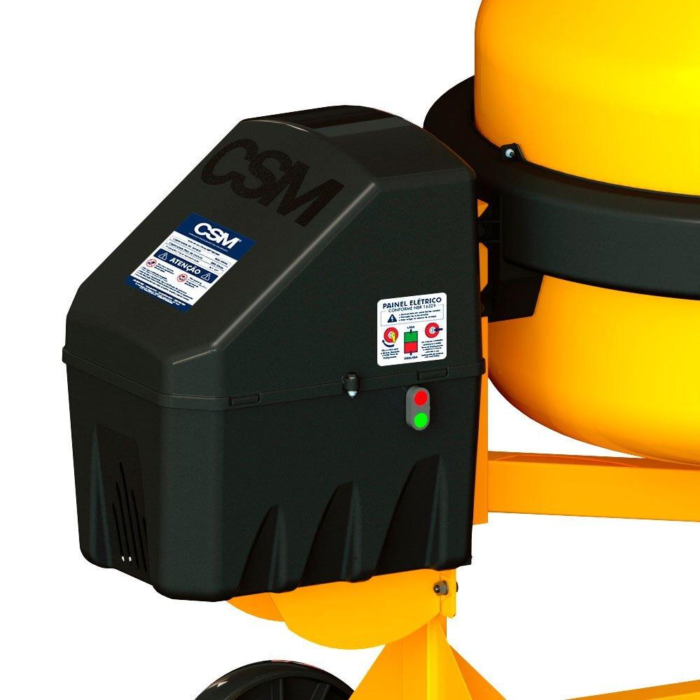 Betoneira 1 Traço 400 Litros 2CV 4P  Monofásico com Kit de Segurança - Imagem zoom