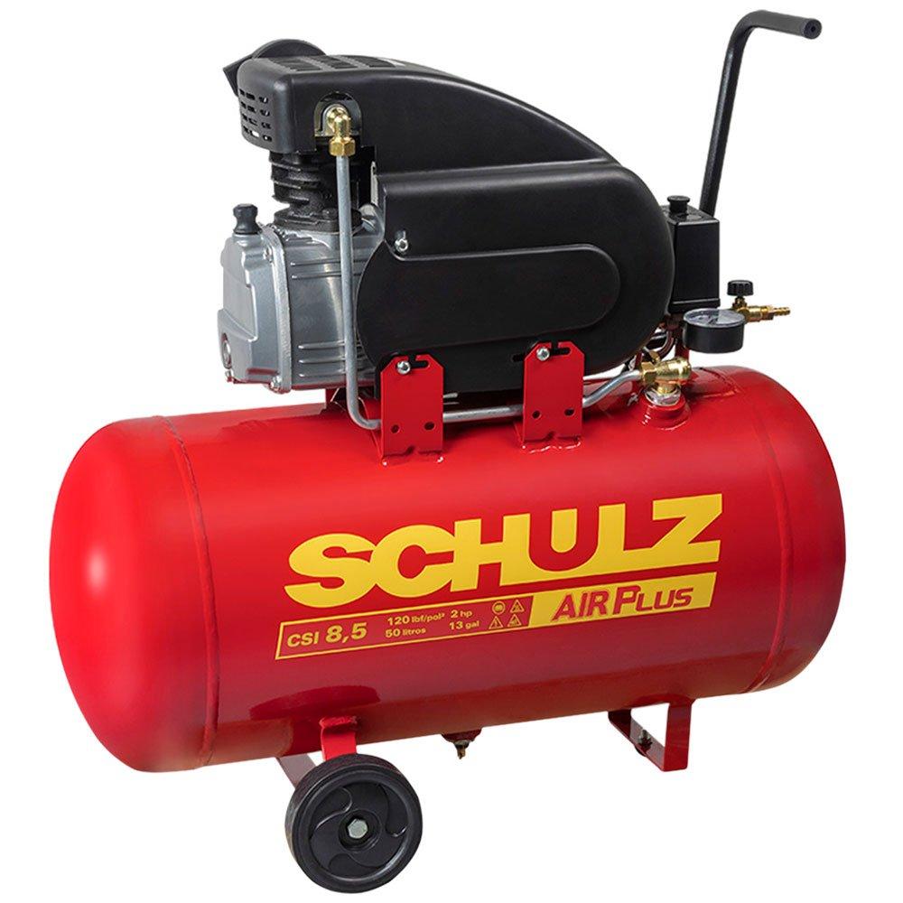 Motocompressor de Ar 8,5 Pés 50 Litros  Air Plus - Imagem zoom
