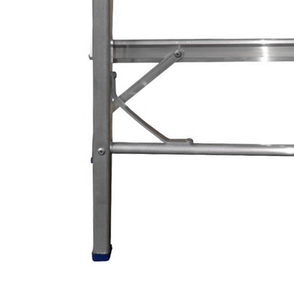 Escada Tipo Banqueta 3 Degraus Dobrável - Imagem zoom