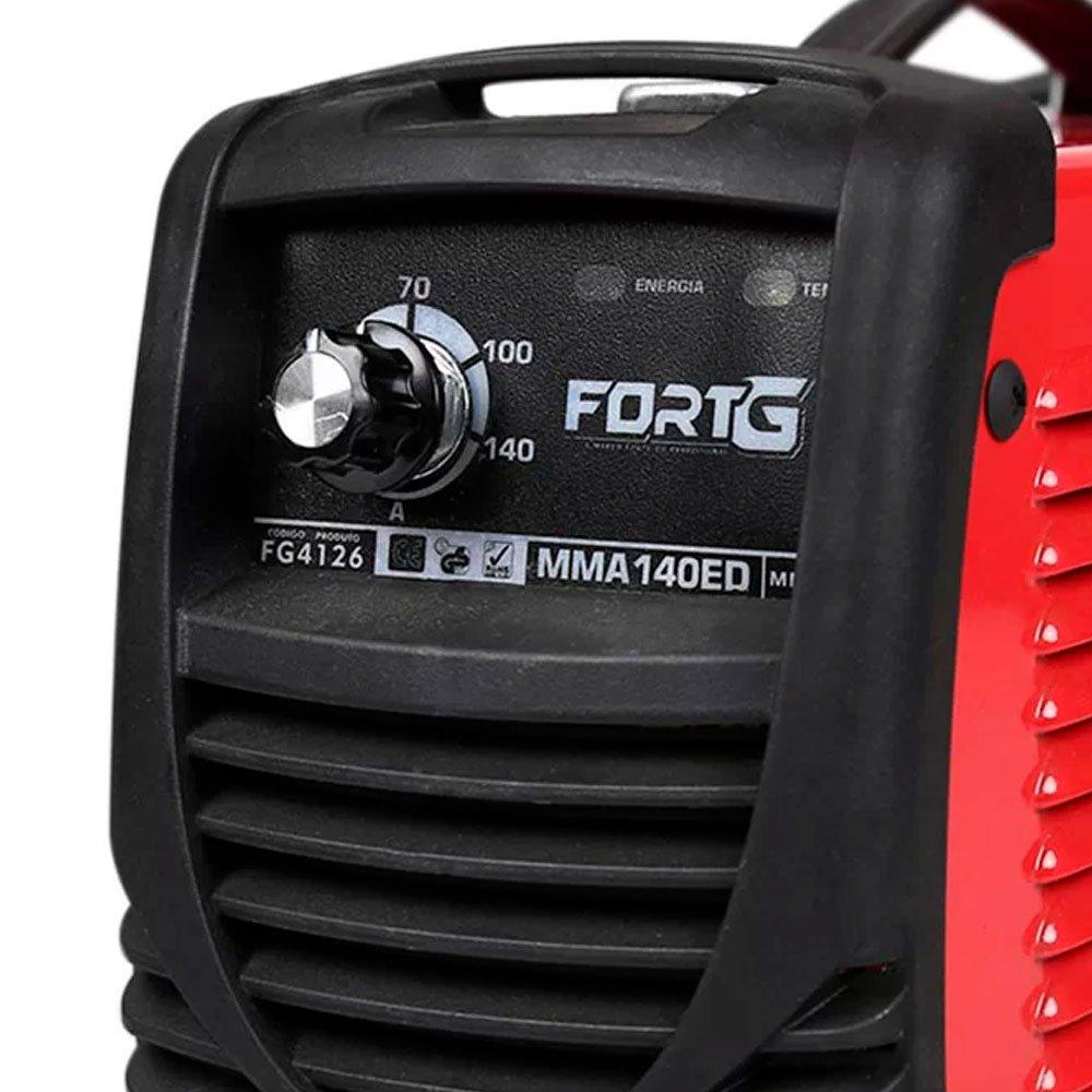 Kit Máquina de Solda Inversora FORTGPRO-FG4126 + 2 Protetor Solar Profissional NUTRIEX-0060954 FPS 30 - Imagem zoom
