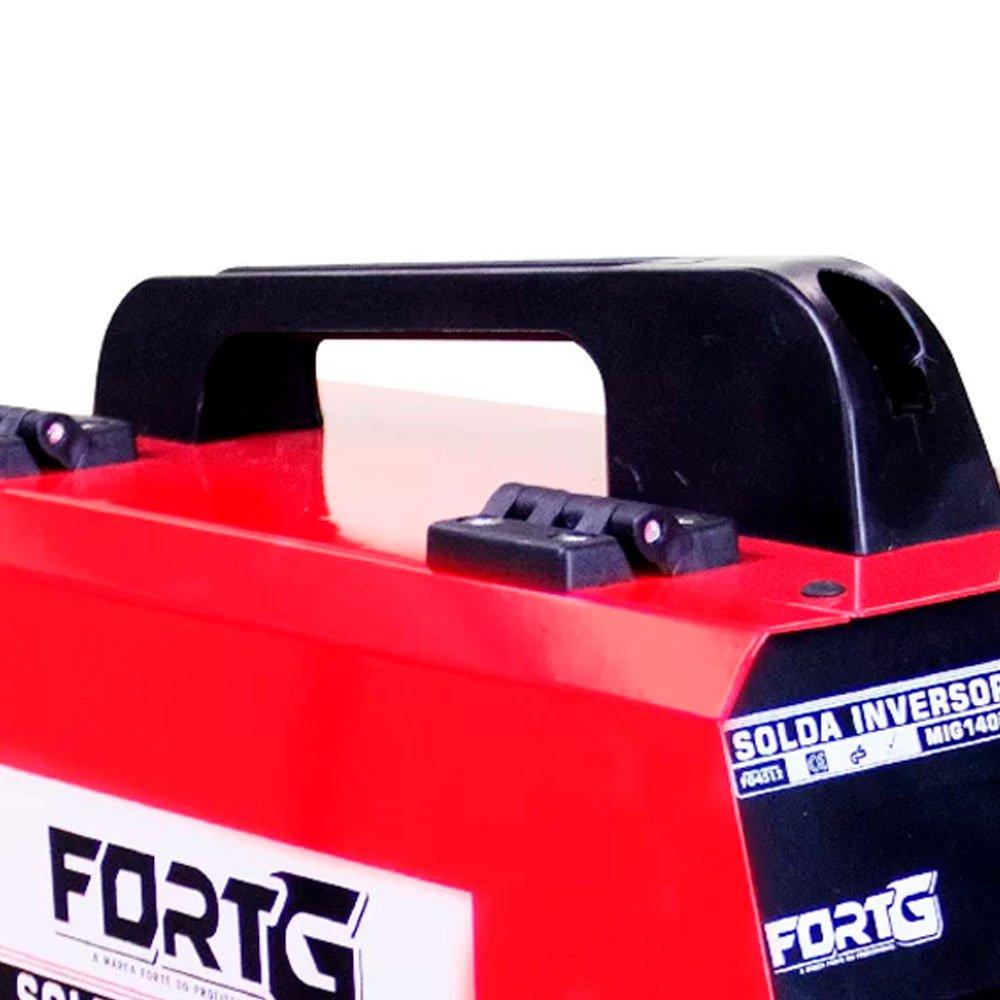 Kit Máquina de Solda Multifuncional FORTGPRO-FG4512 MIG/MAG com e sem Gás  + 2 Protetores Solar NUTRIEX-60962 120ml  - Imagem zoom