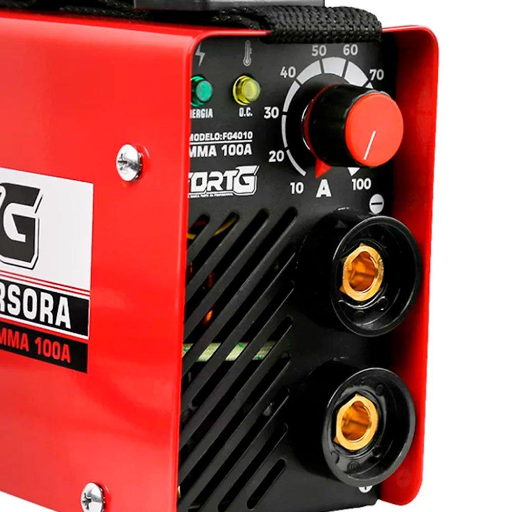 Kit Máquina Inversora de Solda FORTG-FG4010 com Acessórios + 2 Spray Repelente de Insetos NUTRIEX-63503 100ml - Imagem zoom