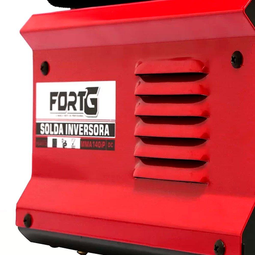Kit Máquina de Solda Inversora FORTGPRO-FG4513 Compacta + 2 Spray Repelente de Insetos NUTRIEX-63503 100ml - Imagem zoom