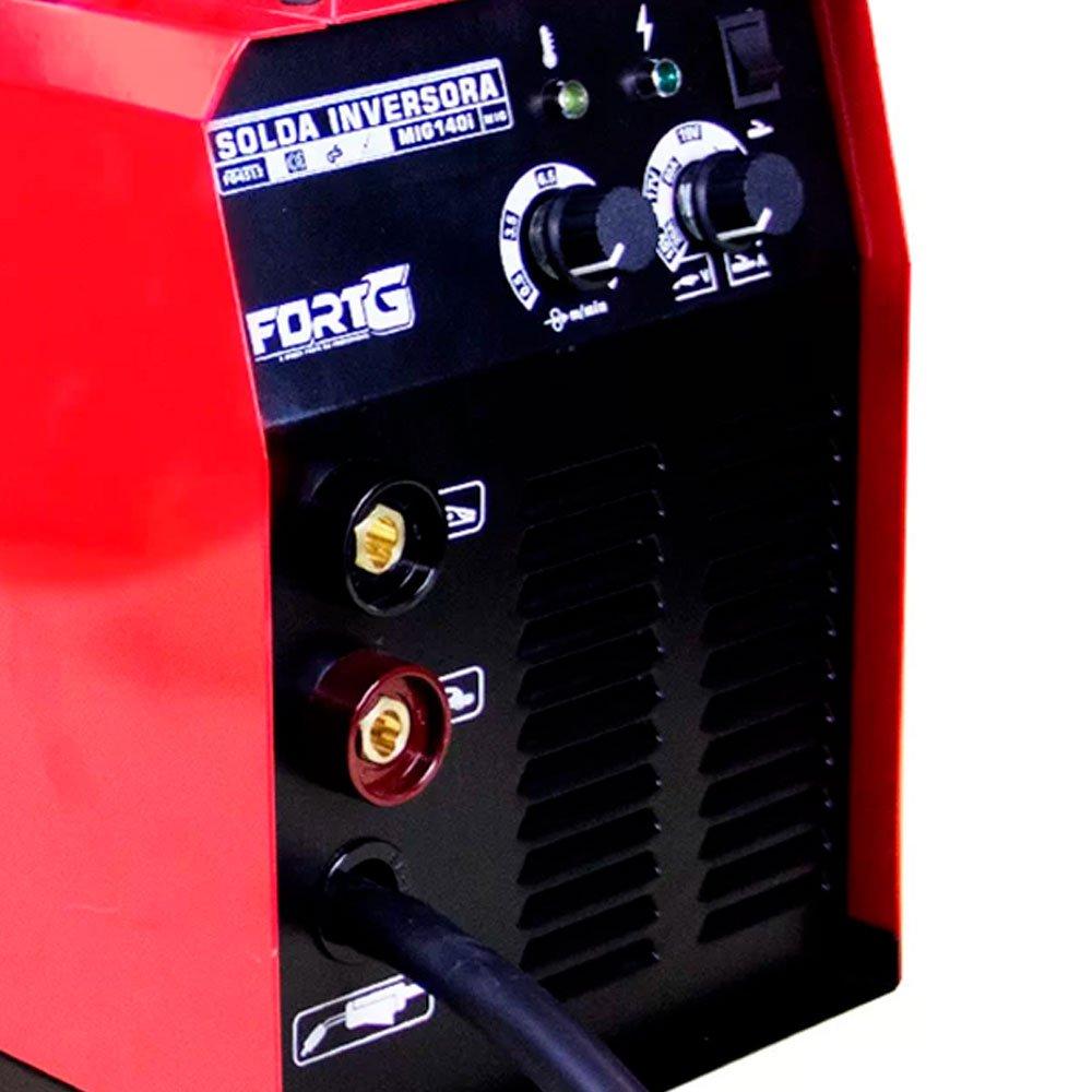 Kit Máquina de Solda Multifuncional FORTGPRO-FG4512 MIG/MAG com e sem Gás + 2 Cremes Hidratantes NUTRIEX-62232 200g  - Imagem zoom